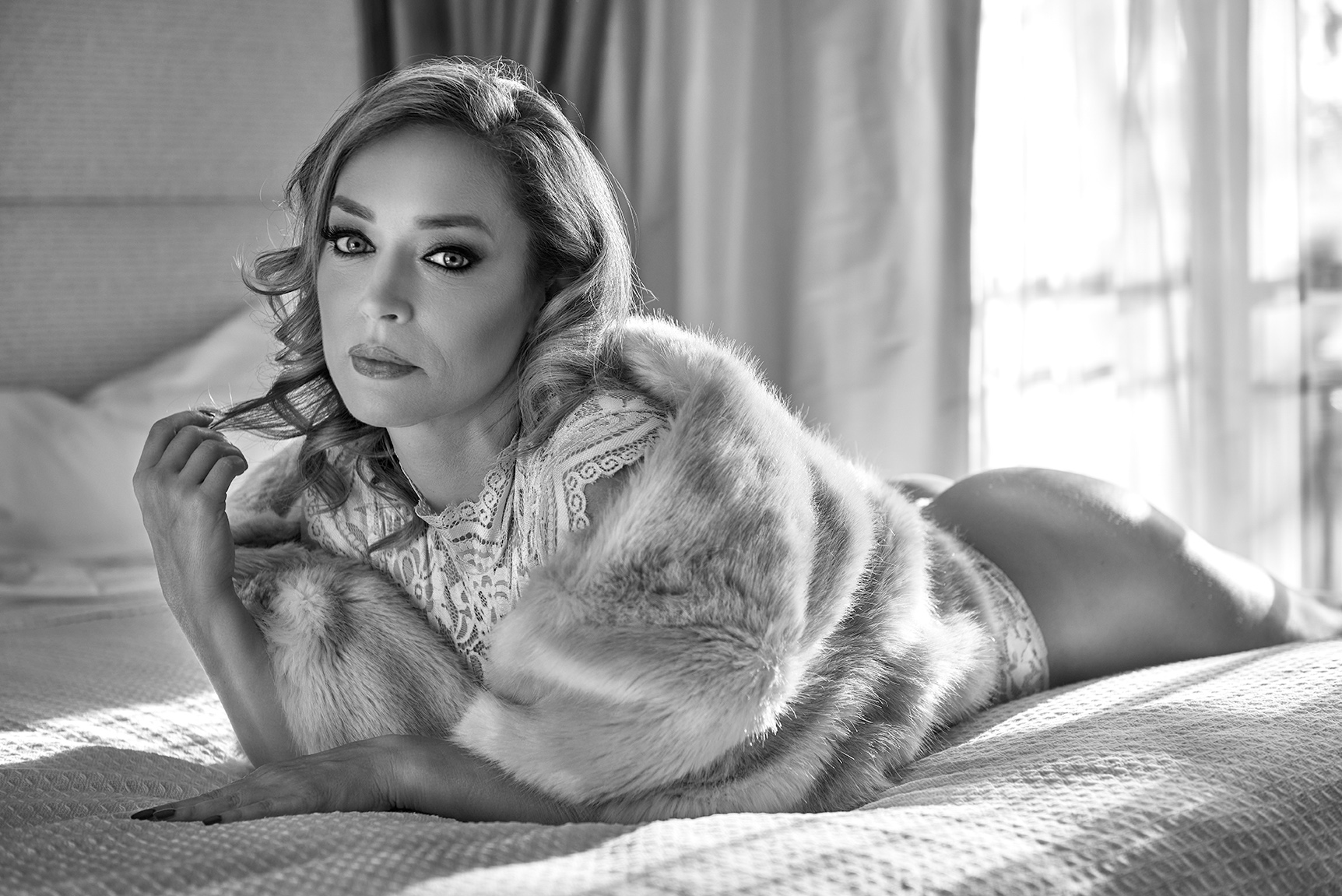 Actress Bella Trost By Tito Vilela