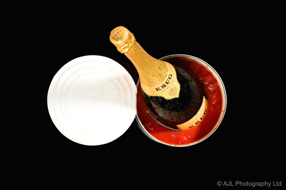 Champagne shoot for Moet Hennessy Diageo HK Ltd.
