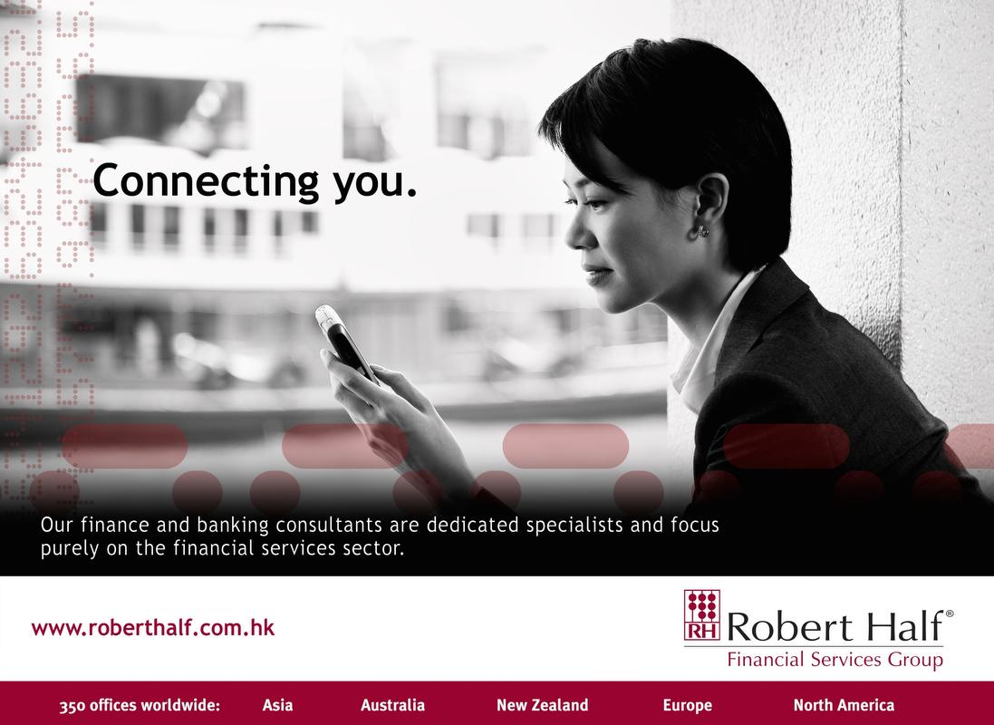 Advertisement for Robert Half
