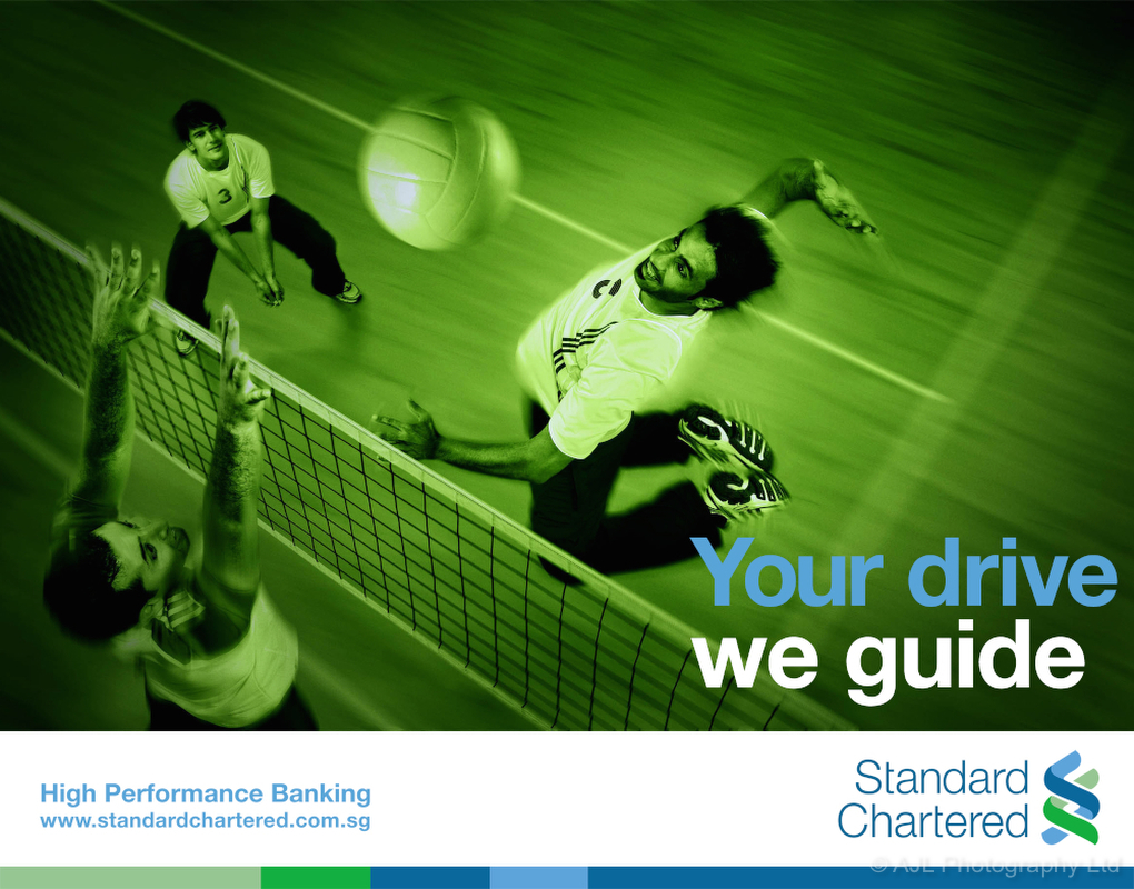 Advertisement for Standard Chartered Bank