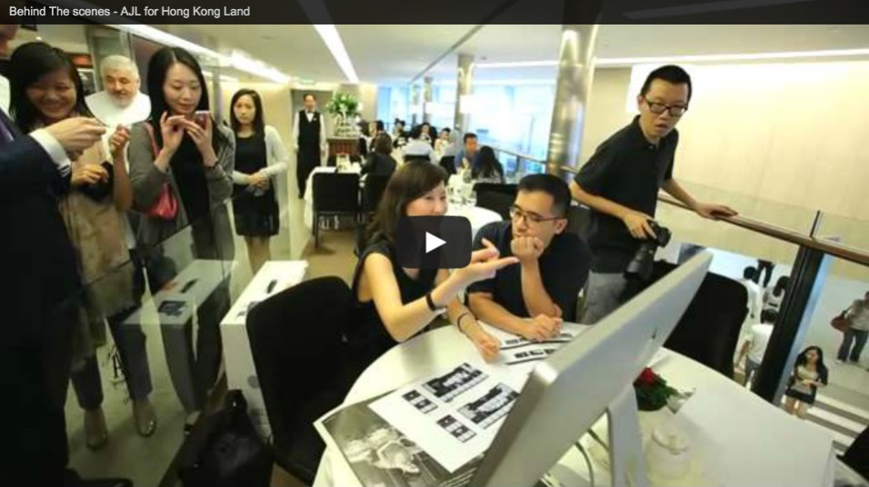 HONG Kong Land, Landmark Ad campaign - Behind the Scenes