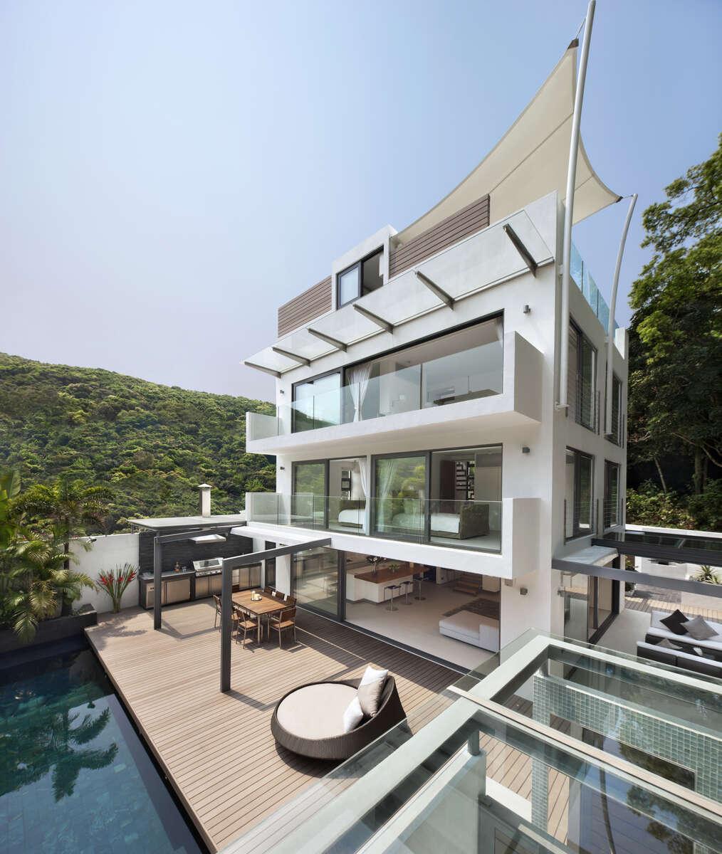 350 Tai Hang Road - designed by Ken Wong