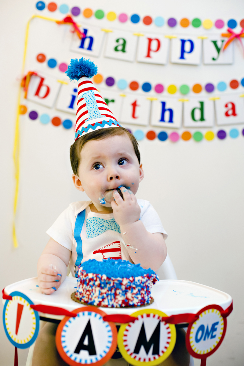one year old's first birthday