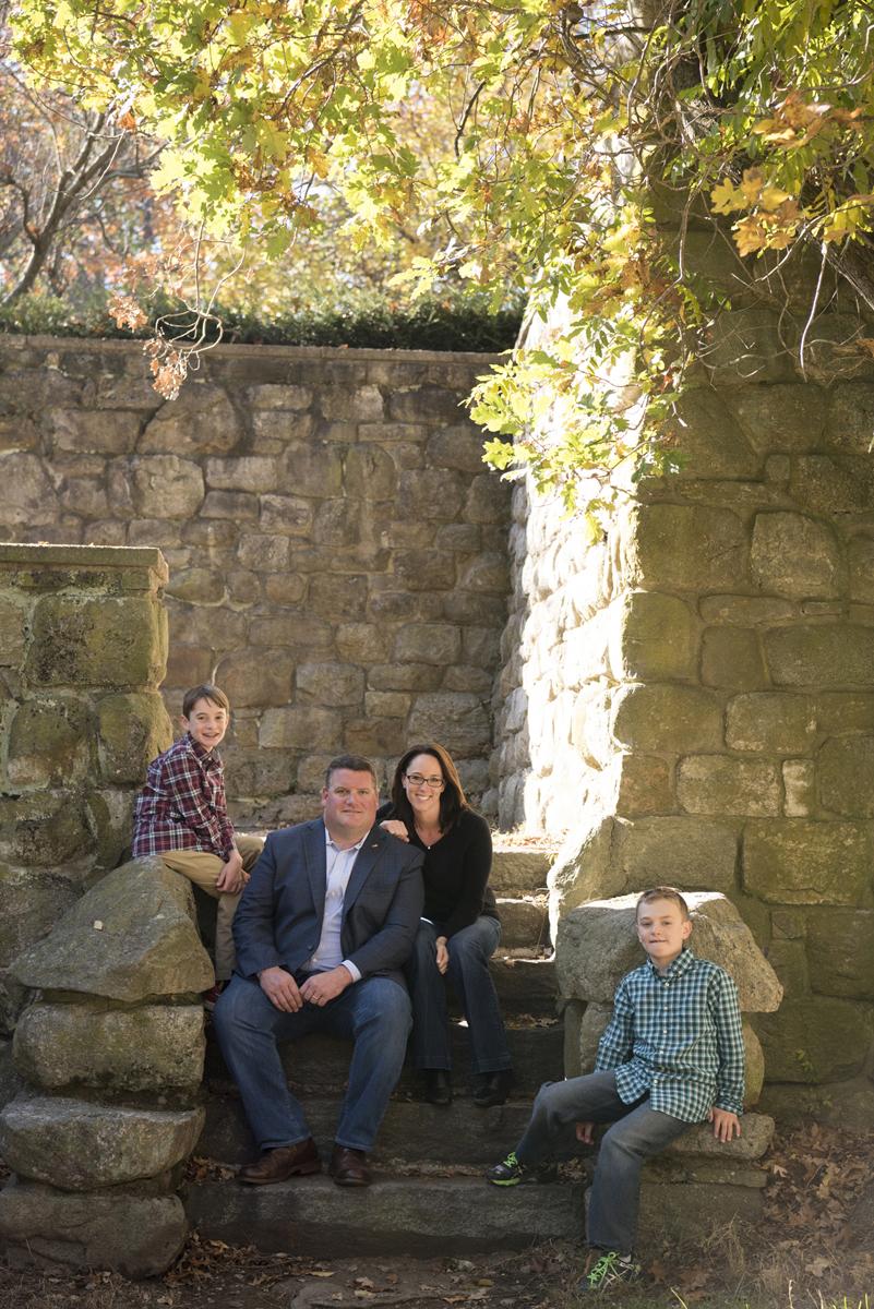 Carroll Family - Samantha, Bobby, Jack and Justin