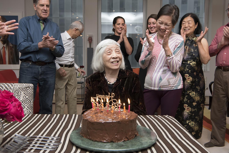 family celebrates matriarch's 90th birthday