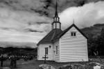 Rose Church in Stordal near Alesund