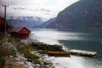 Boat on Fijord Norway