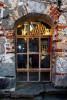 Window Textured Brick Wall
