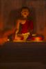 Buddha with Monk Praying