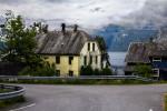 House on Side of Road Alesund Norway