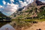 Crater Lake Near Aspen Colorado