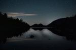 Jordan Pond Big Dipper and Night Sky