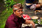 Man Smoking Bali