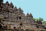 Temple Ruins Borobudur Java Indonesia