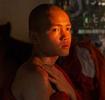 Monk in Yangon Monastery