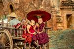 Monks in Cart