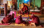Monk Master Teaching