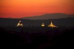 Pagodas at Sunset