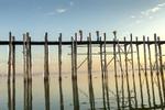 U Bein Bridge, Taungthaman Lake, Mandalay