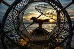 Fisherman and Inle Lake