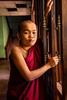 Monk by Door