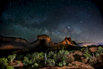 Milky Way Courthouse Rocks Sedona
