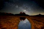 Milky Way Cathedral Rock Sedona