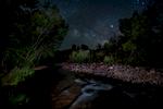 Milky Way with Stream, Sedona