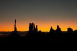 Totem Pole at Sunrise, Monument Valley AZ