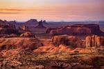 Hunts Mesa, Monument Valley, Border of UT and AZ