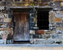 Brown Door and Window