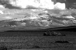 Mountain Range Mammoth Lakes California