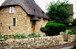 Thatched Roof House Near Oxford England
