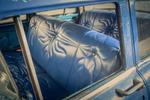 blue taxi Havana