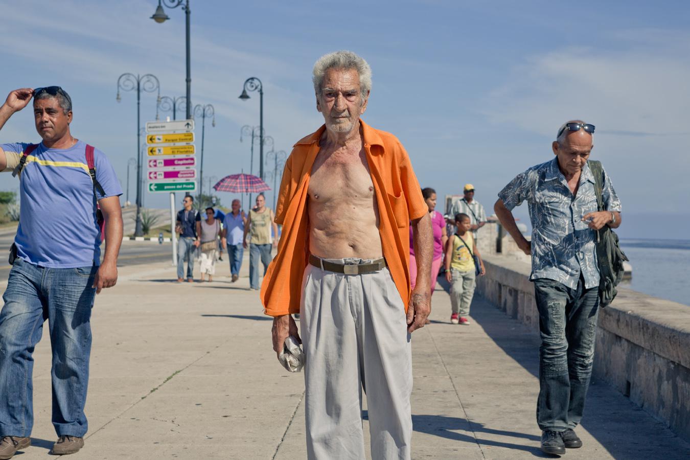 homeless man - cuba