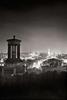 221-Edinburgh-at-night-Dugald-Stewart-Monument-I-ORNG7340