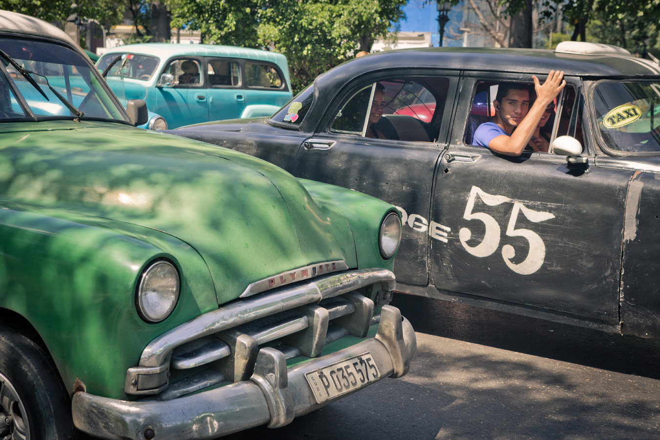 old taxis in Havana