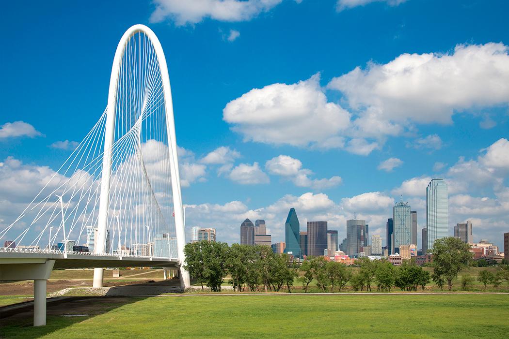 Margaret-Hunt-Hill-Bridge-Downtown-Dallas-Architectural-Photo