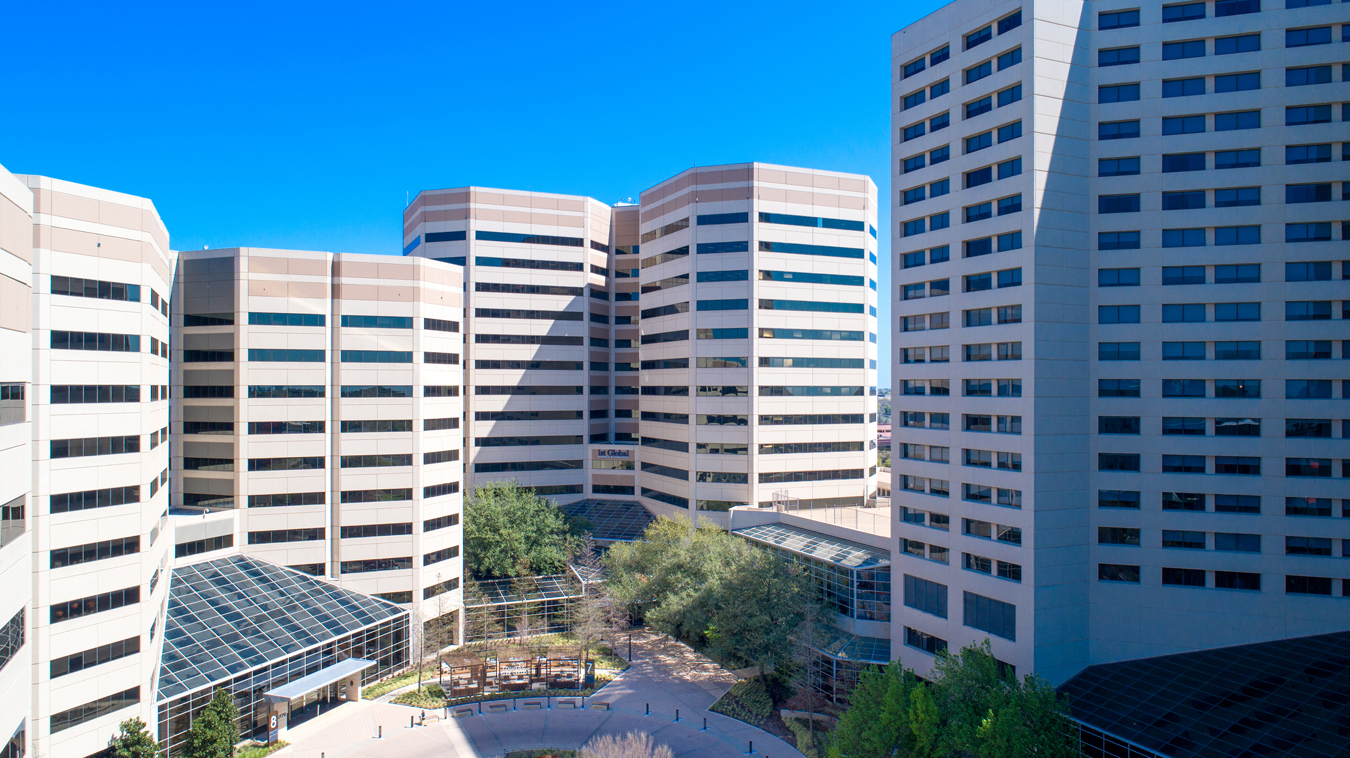 Park-Central-Towers-Dallas-Texas-Drone-Picture