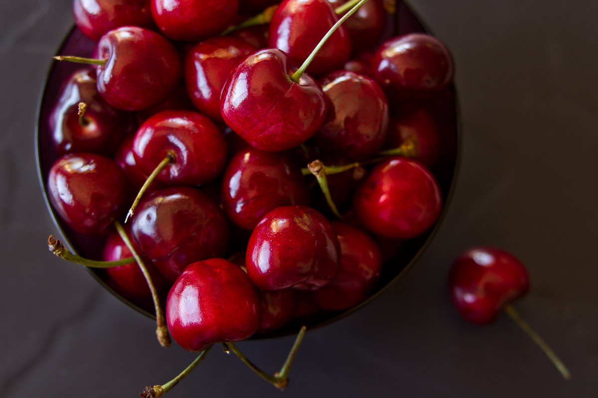 Cherries on a Sunday morning.