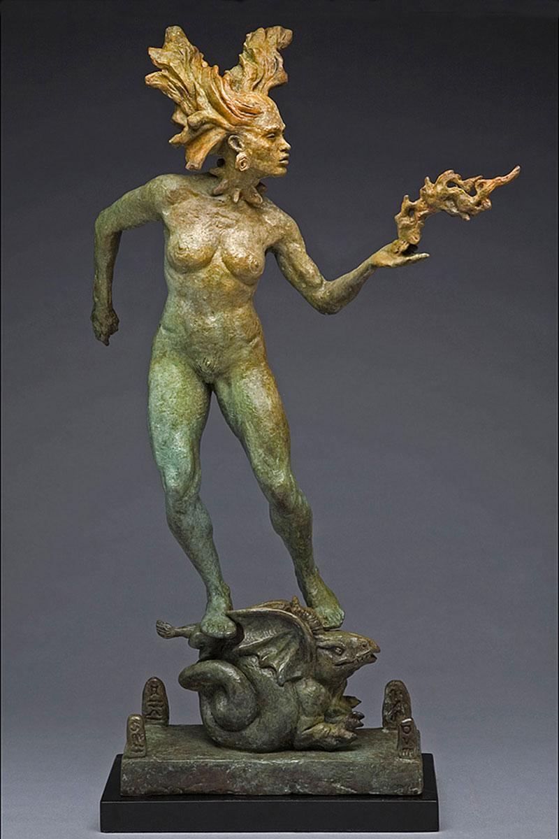 Bronze  23x13x6