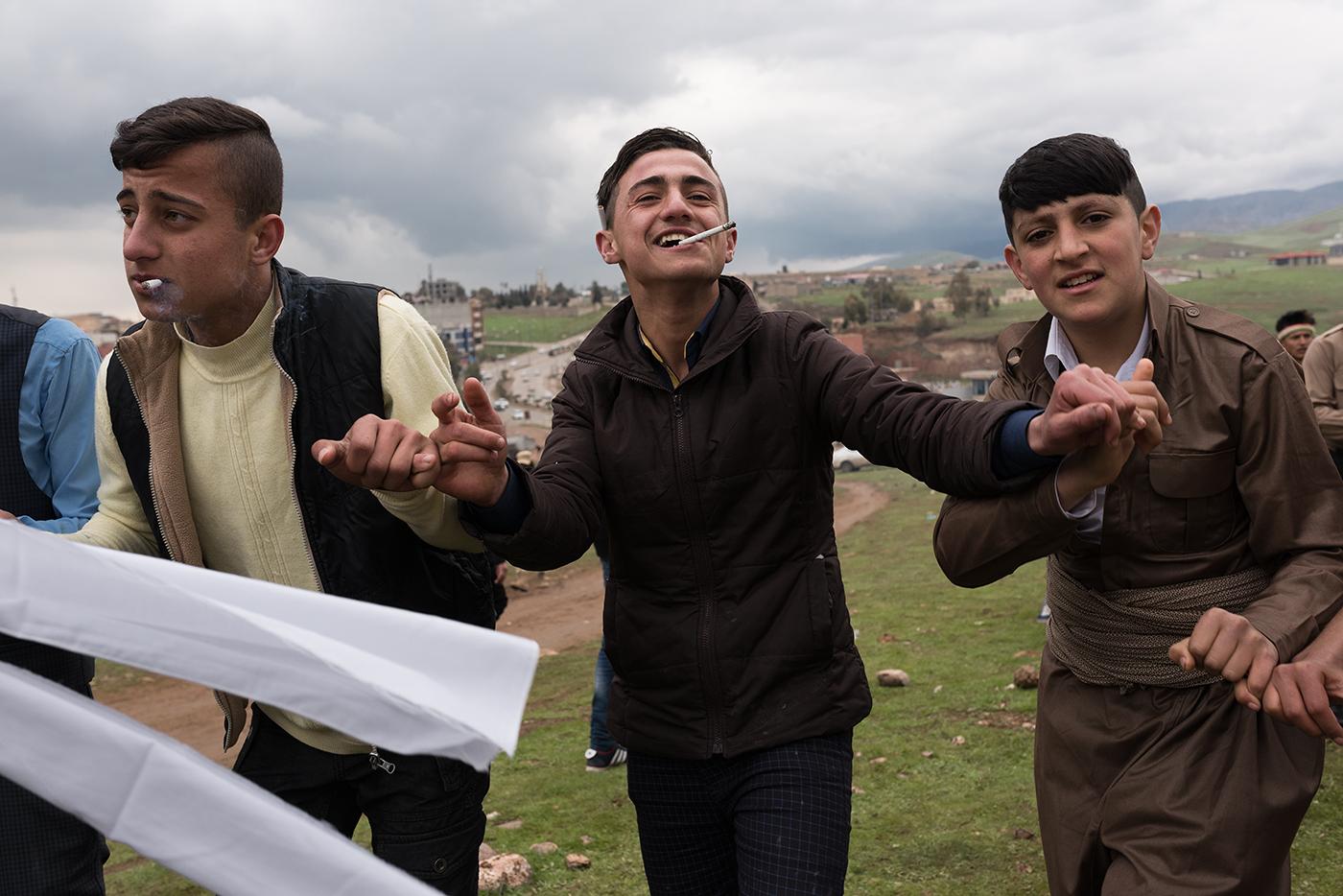 The celebration of Newroz.