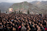 A political rally in Akre, Iraq.