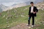 A Kurdish boy above the Zanta valley.