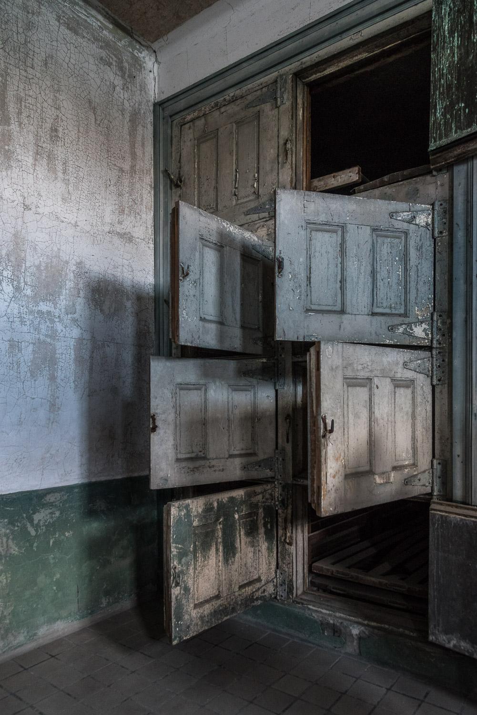 Morgue and autopsy room