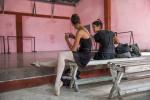 Havana ballet studio