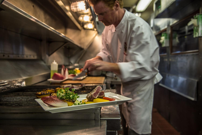 The Napa Valley Wine Train Chef