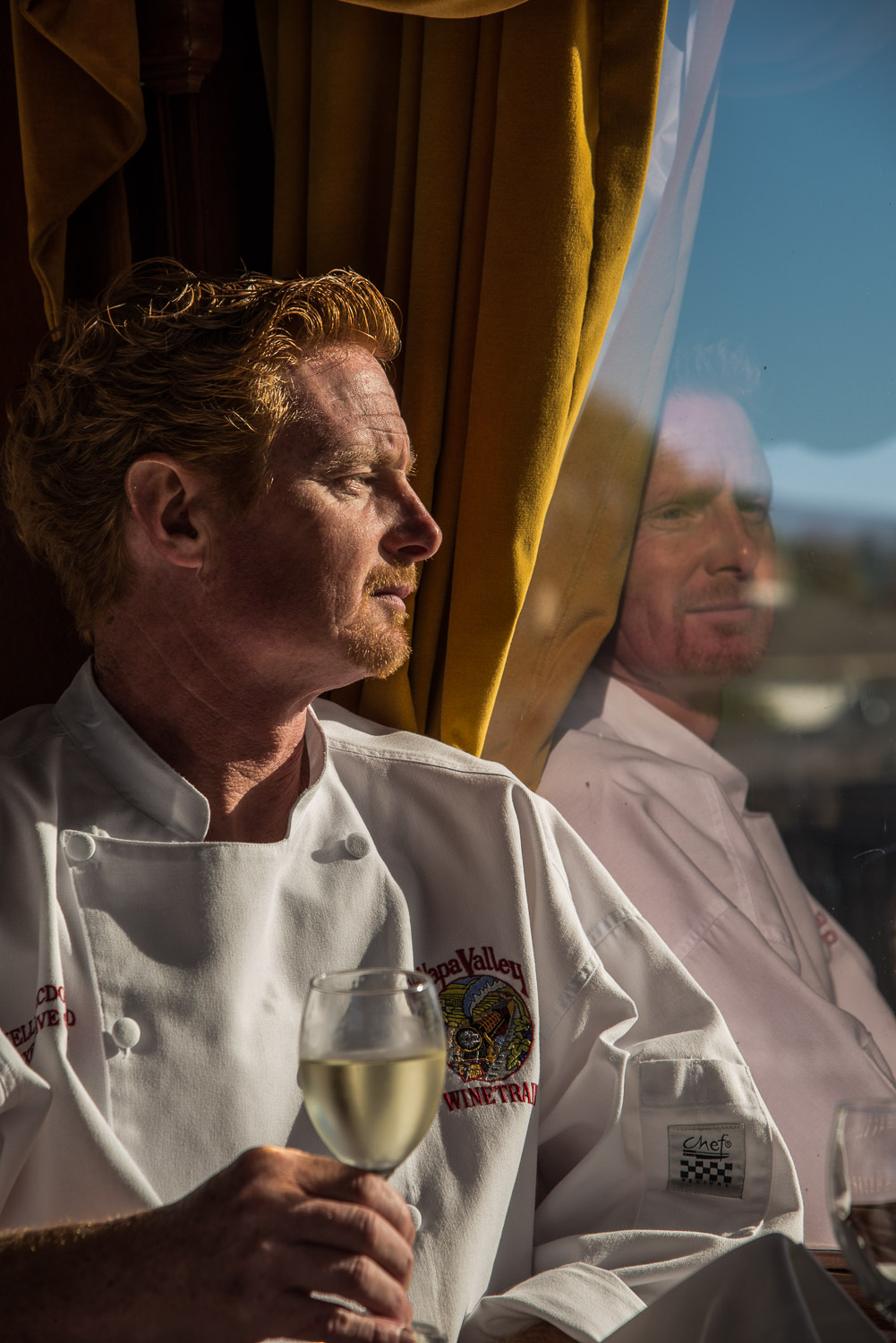 The Napa Valley Wine Train Chef