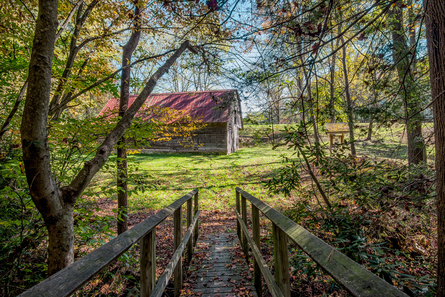 Allison-Deaver House (barn),  Brevard, NC