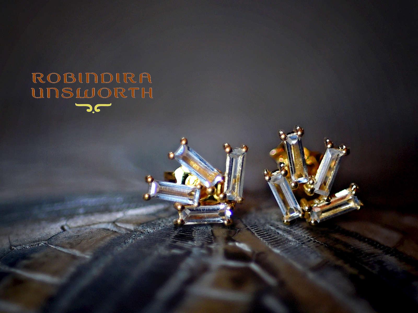 Robindira_diamond_Baguette_earrings